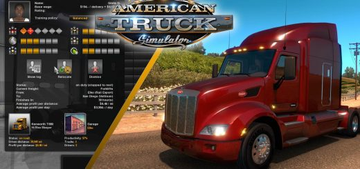 American truck simulator - ATS Mods   American Truck