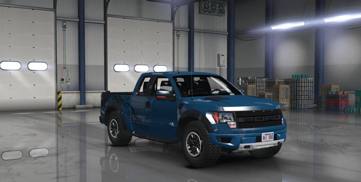 Ford F Svt Raptor Truck V