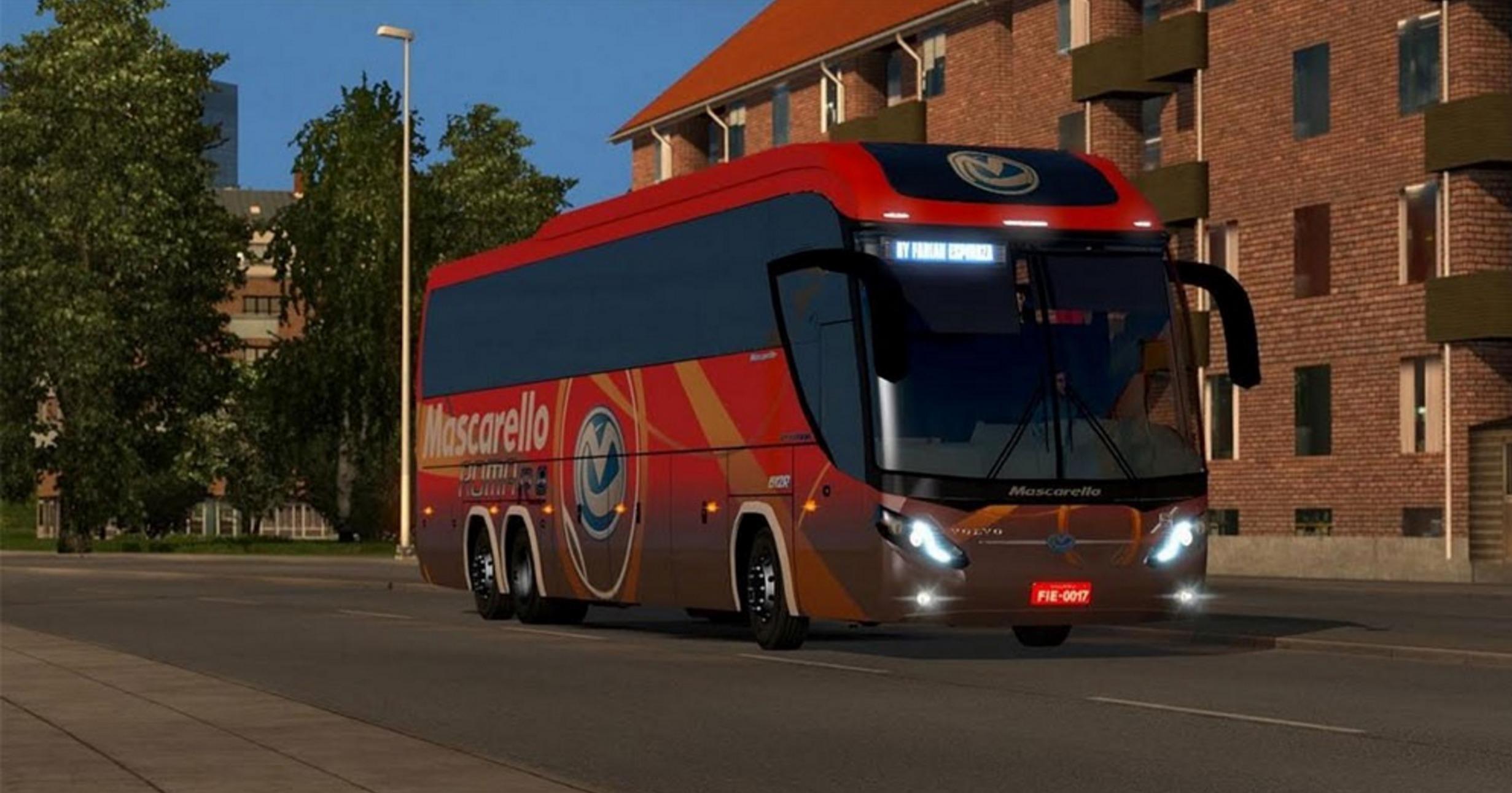 Mascarello Roma 370 6×2 Bus - ATS Mod | American Truck