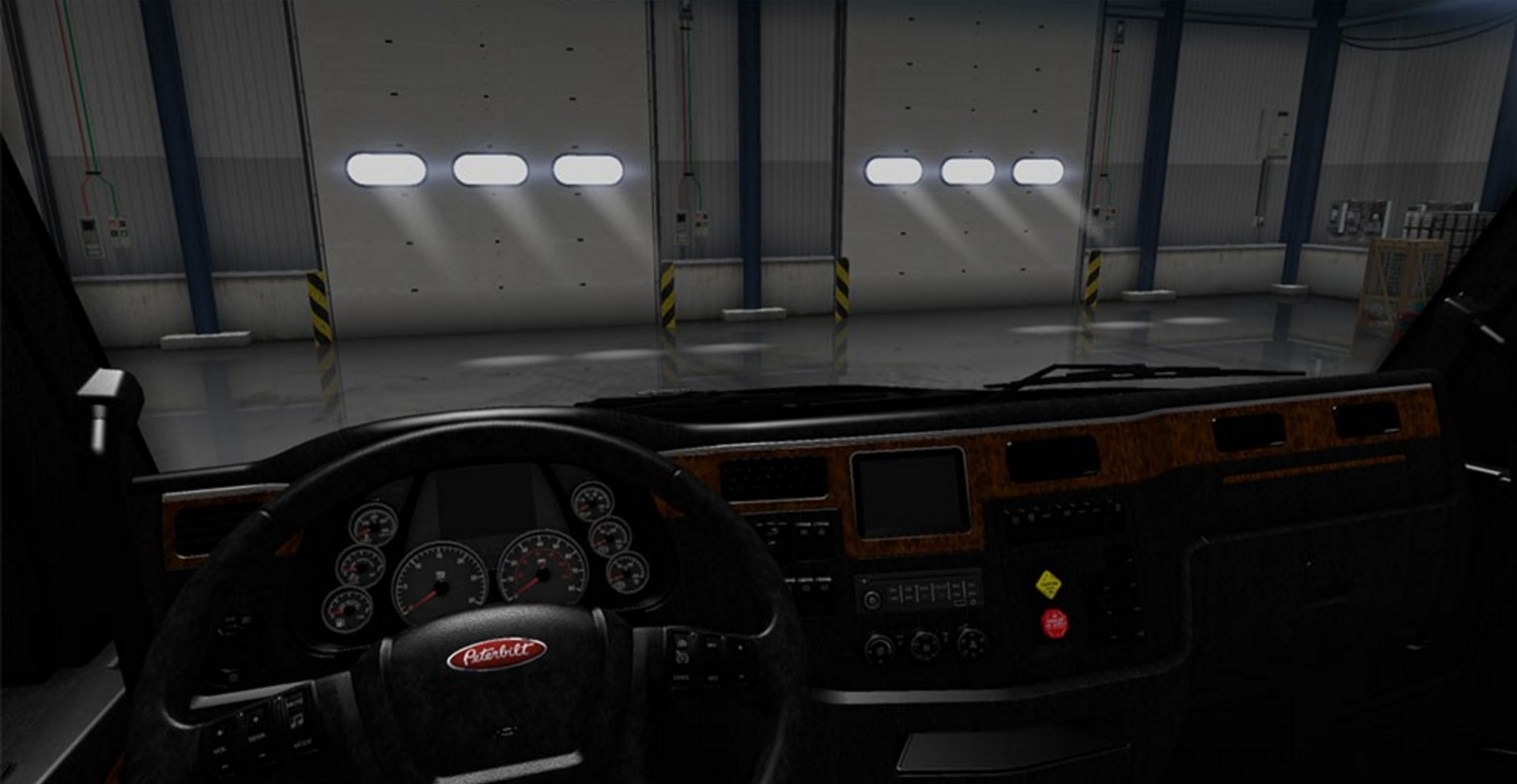 Peterbilt 579 Blackout Interior Mod