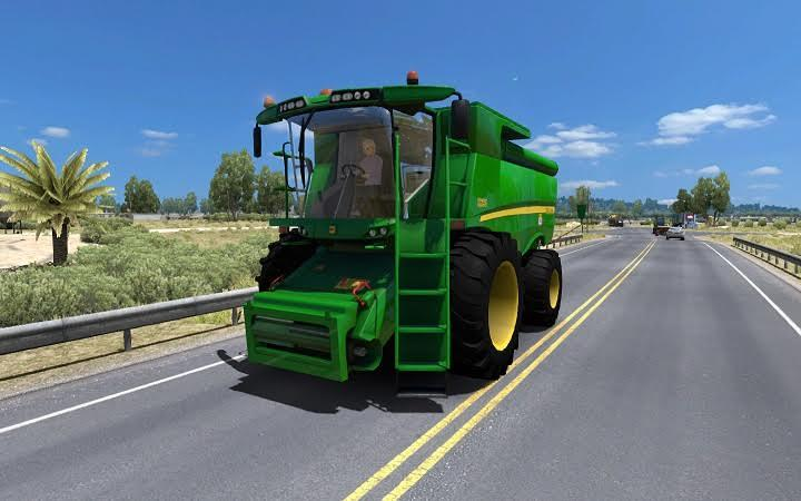 TRACTOR IN TRAFFIC FOR 1 6 ATS MOD - ATS Mod | American Truck