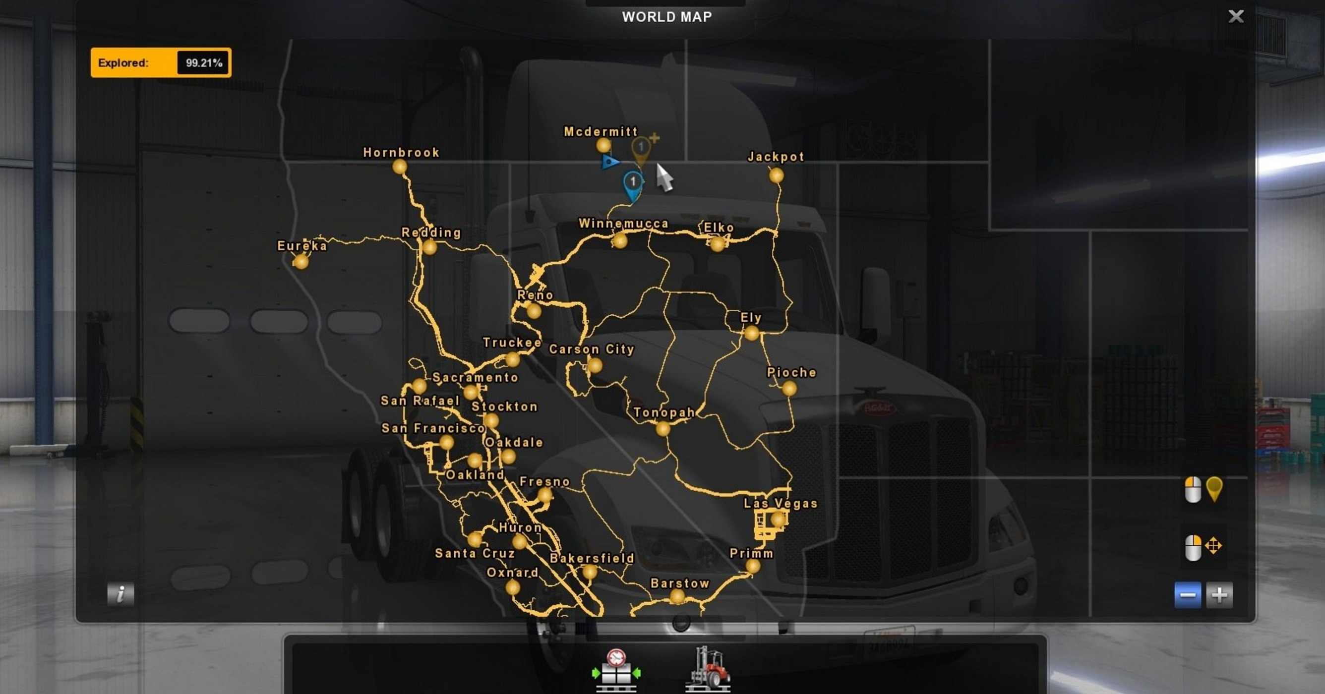 THE MAP TO VANCOUVER V0.0.1 ALPHA for ATS   ATS Mod | American