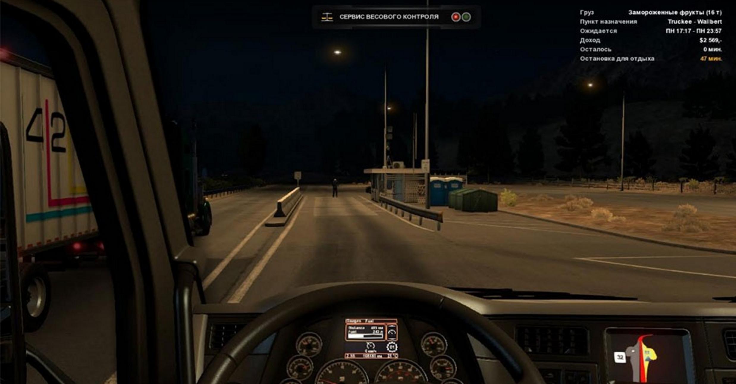2 Options Route Advisor Mod - ATS Mod | American Truck