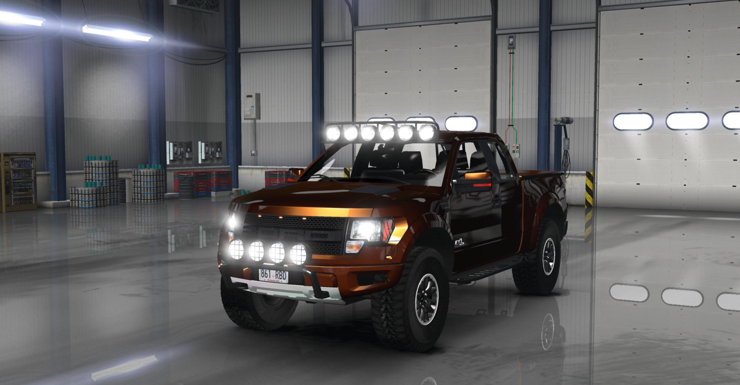 Ford F Svt Raptor V For Ats