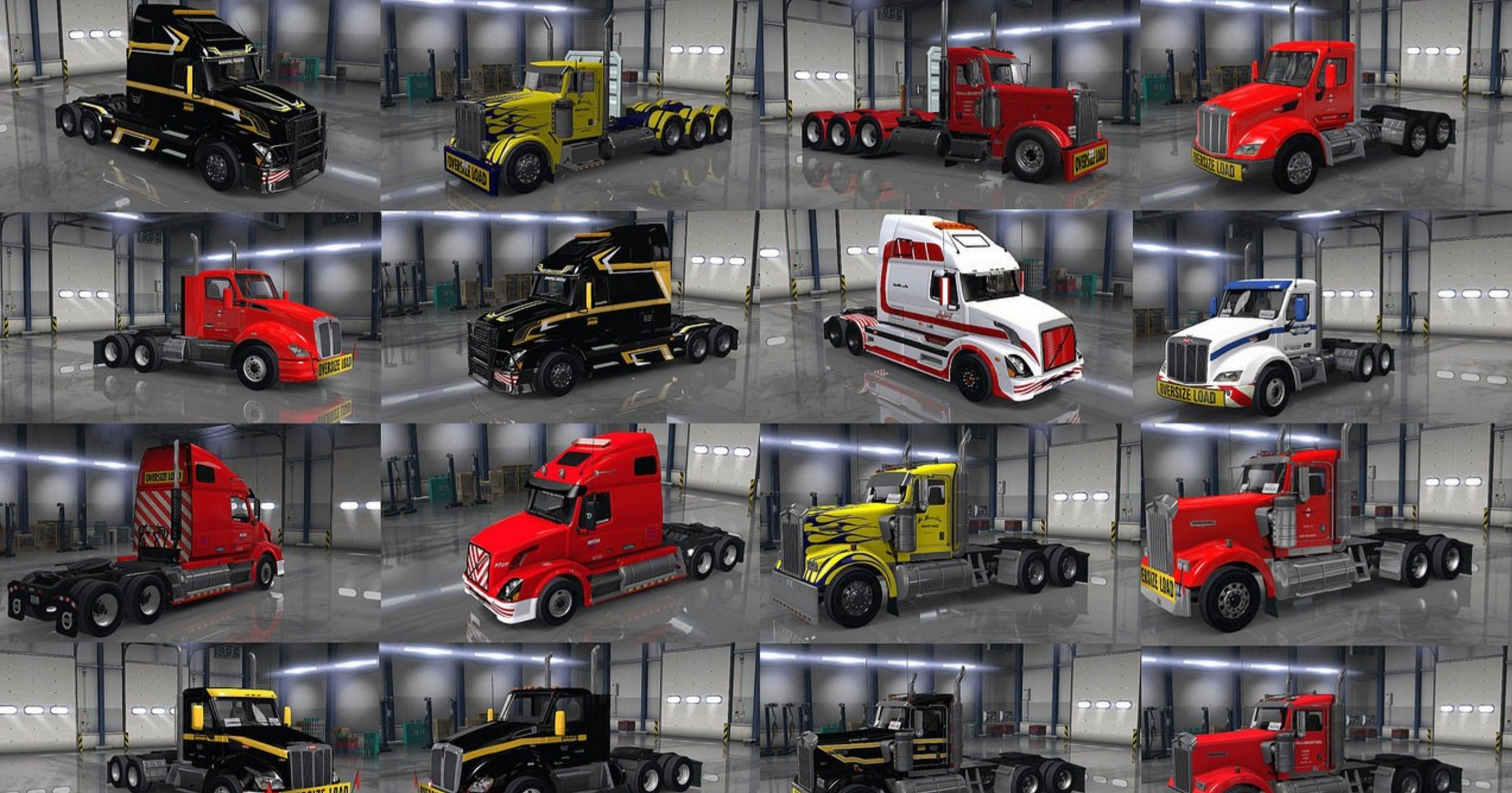 Image Result For Heavy Haul Truck Skin Pack For Ats American Truck