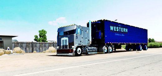 KENWORTH W900L TRUCK BIG BOB EDITION V3.1 - ATS Mod | American Truck ...