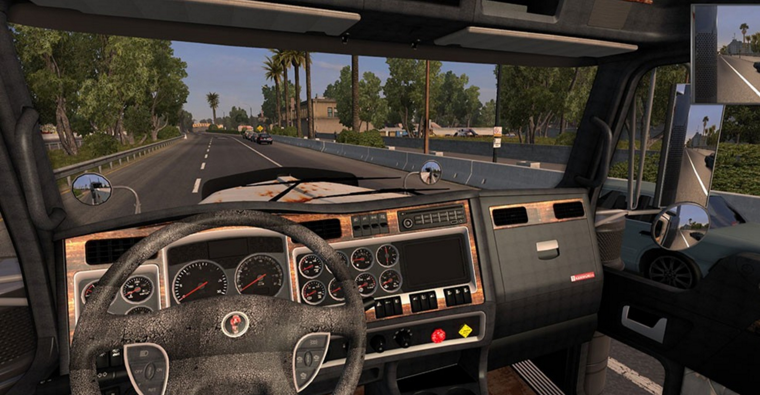 Kenworth W900 Rusted Skin + Matching Interior Pack - ATS Mod