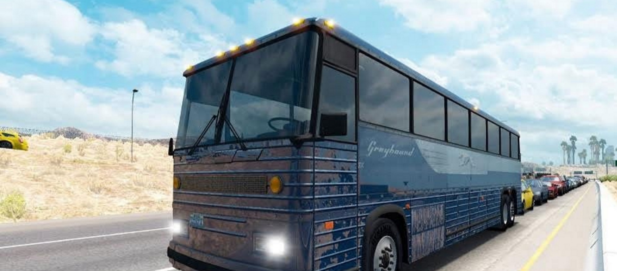 Skin Greyhound Bus for ATS - ATS Mod | American Truck ...