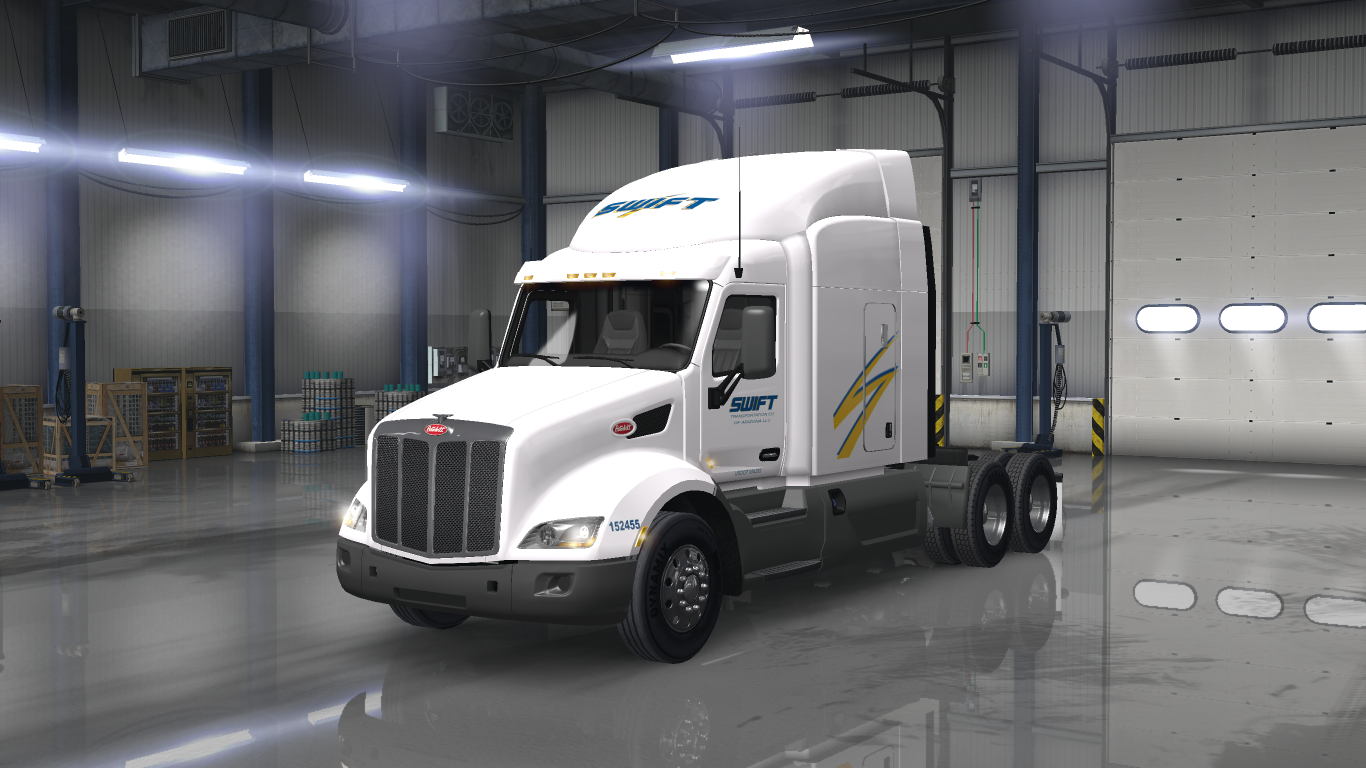 Swift Transportation LLC  Peterbilt 579 - ATS Mod | American