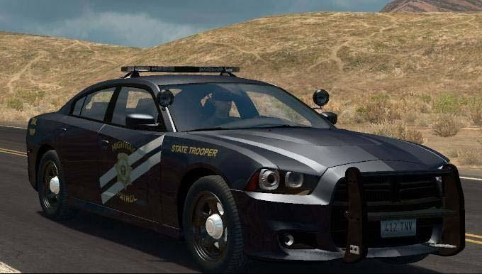 2017 Dodge Charger Cruiser Fixed Model V1 6 Car Ats