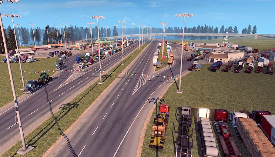 Louisiana Traffic Map.Louisiana Raceway V1 2 Map Ats Mod American Truck Simulator Mod