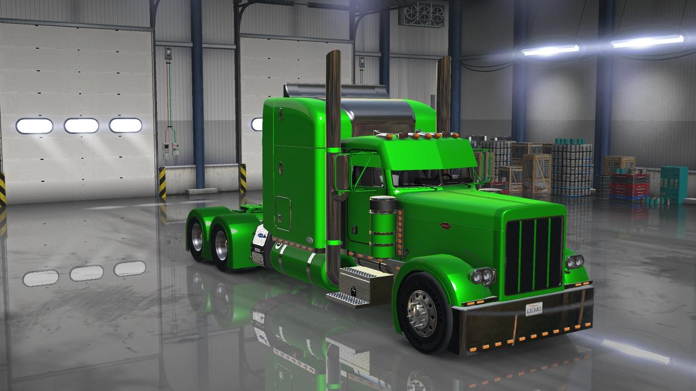 peterbilt 379 exhd custom mod ats mod american truck