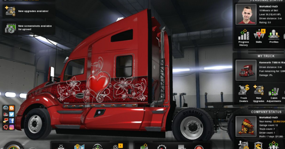amerika truck simulator