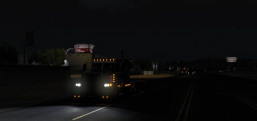 REALISTIC WEATHER FOR ATS 1 28 X BY BLACKSTORM MOD - ATS Mod