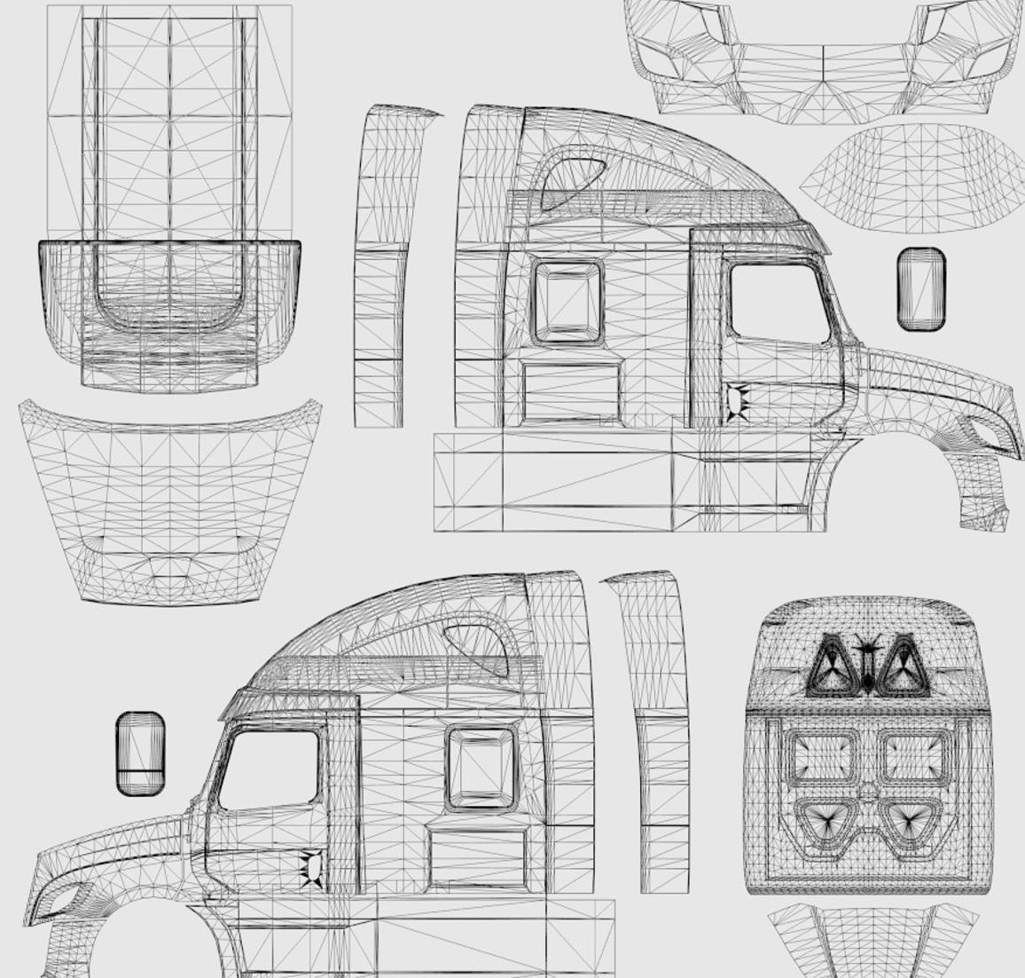 template freightliner cascadia 2018 v 3 9 3 ats ats mod american