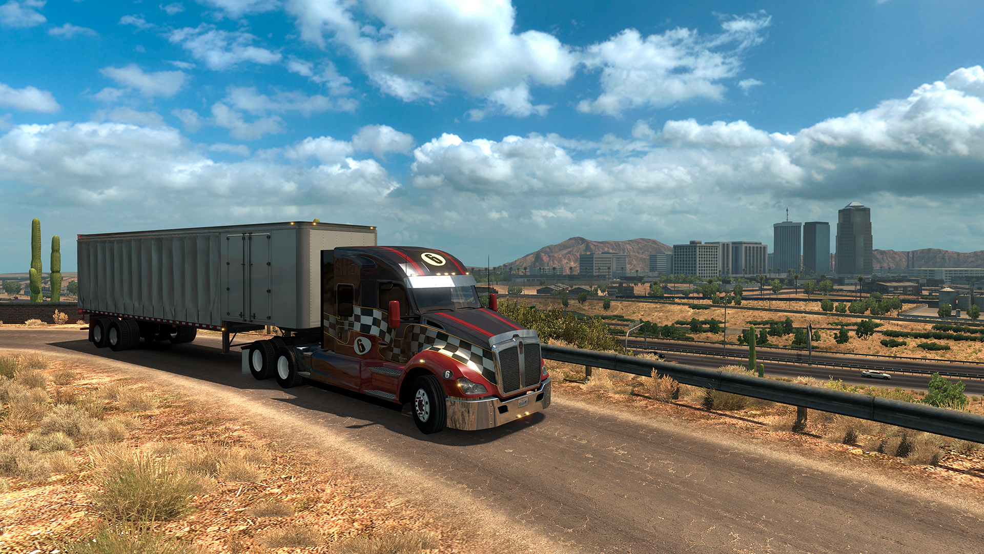 american truck simulator arizona dlc ats arizona dlc. Black Bedroom Furniture Sets. Home Design Ideas