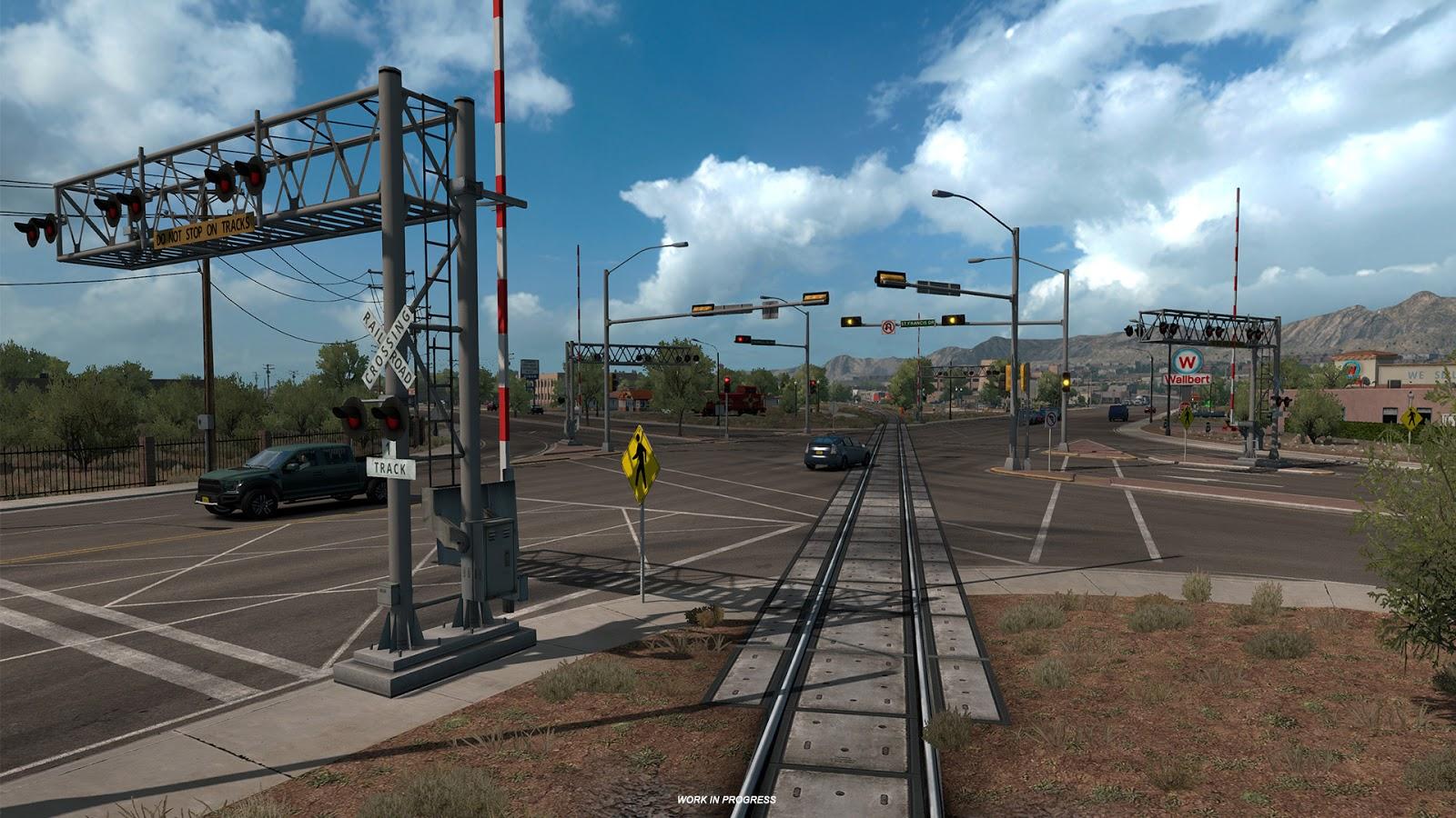 American Truck Simulator New Mexico Dlc Ats Mod American