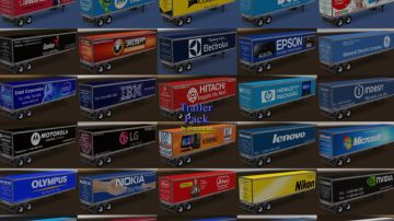 Trailer Pack Electronics v 2 0 for v 1 28 for ATS - ATS Mod