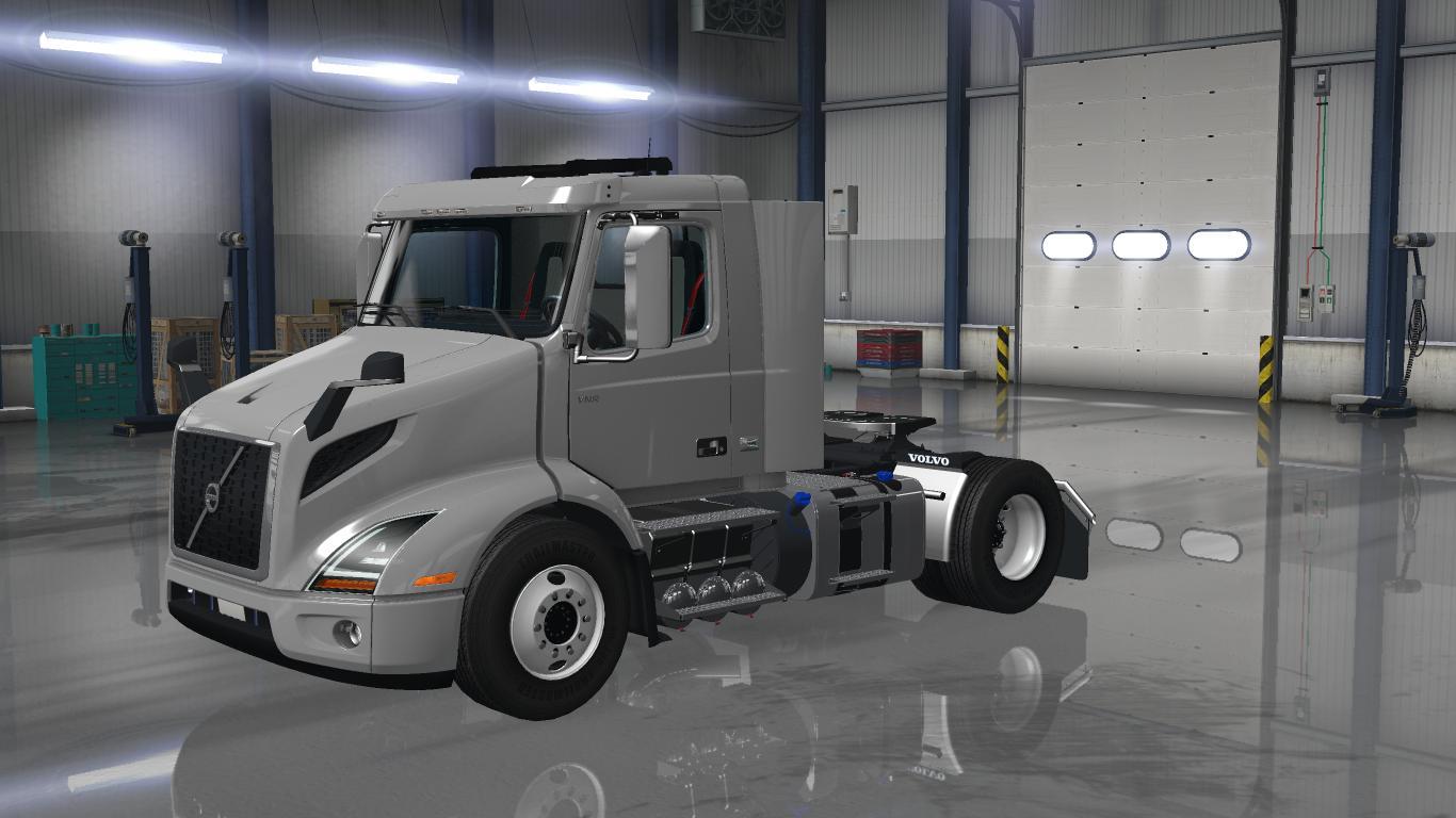 VOLVO VNR 2018 1.28.X TRUCK - ATS Mod | American Truck ...