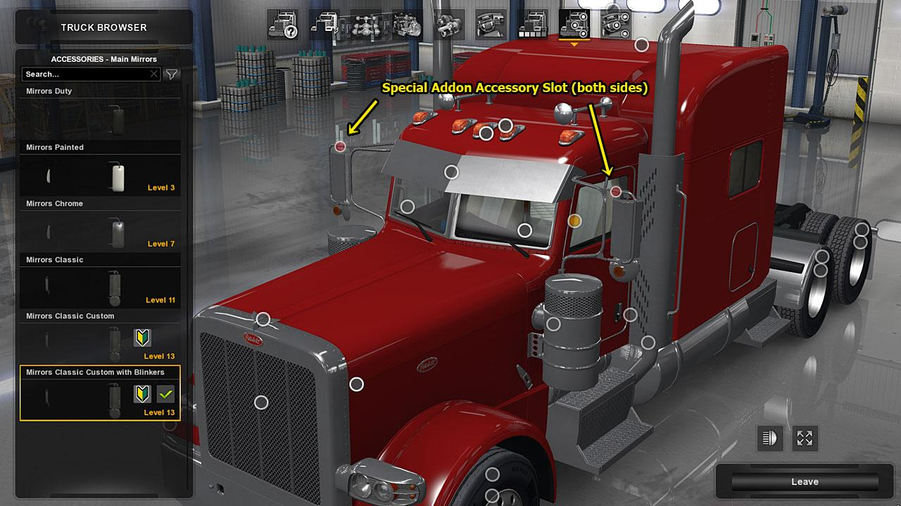 Peterbilt 389 Truck Accessories Pack 1 29 Ats Mod American Truck