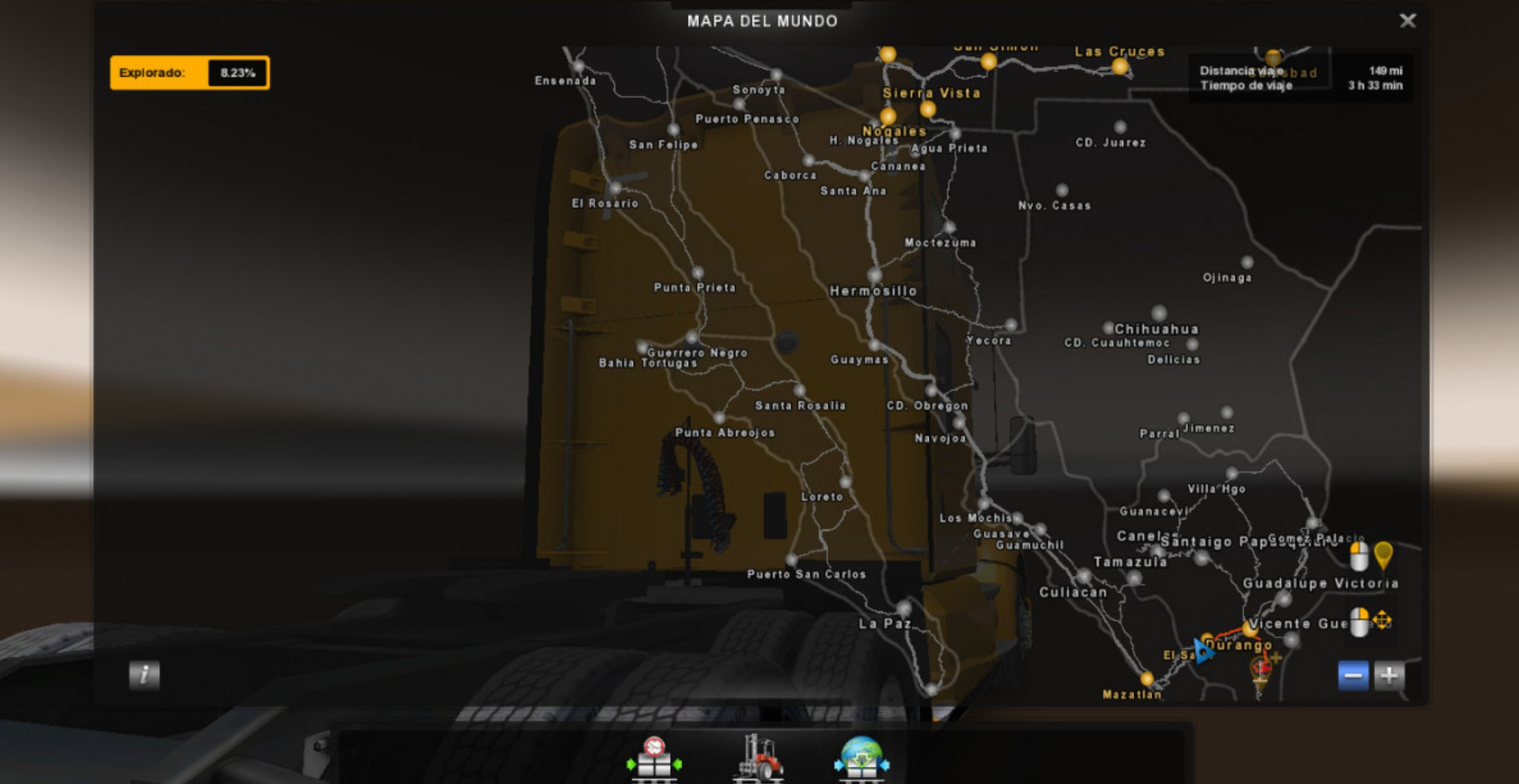 Ats Mexico Map For 1 29 Ats Mod American Truck Simulator Mod