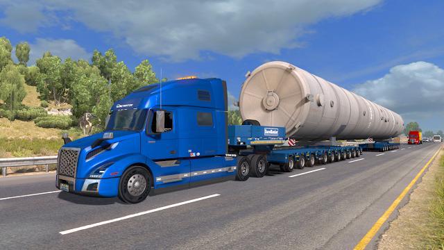 New Tucson 2018 >> FS17 VOLVO VNL 2018 1.30 - ATS Mod | American Truck Simulator Mod