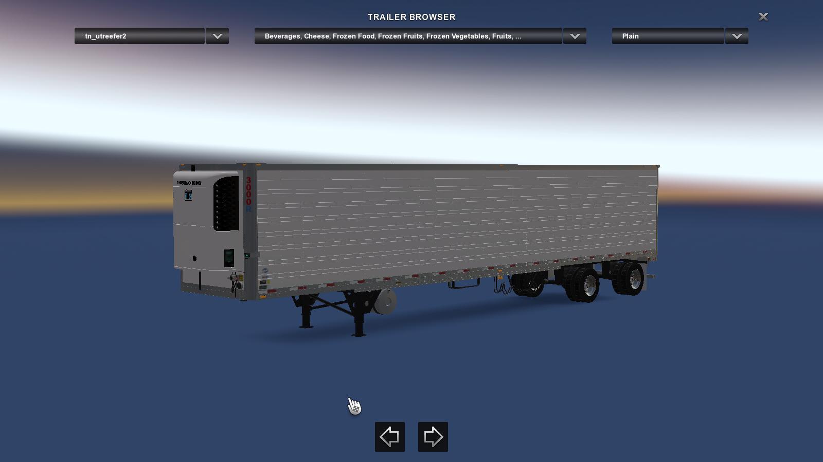 Utility 3000r split axles v1 0 trailer ats mod for Splity 3 en 1