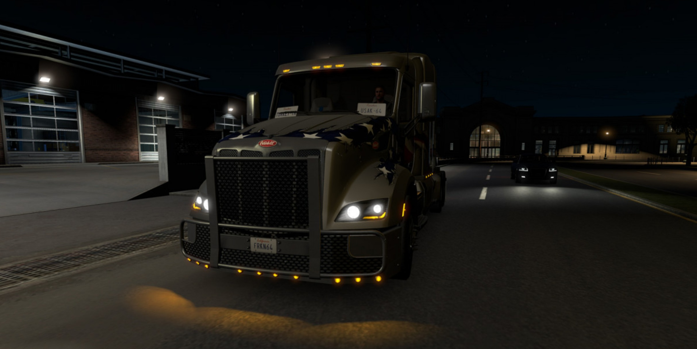Non-Flared Vehicle Lights v1 0 for ATS - ATS Mod | American Truck
