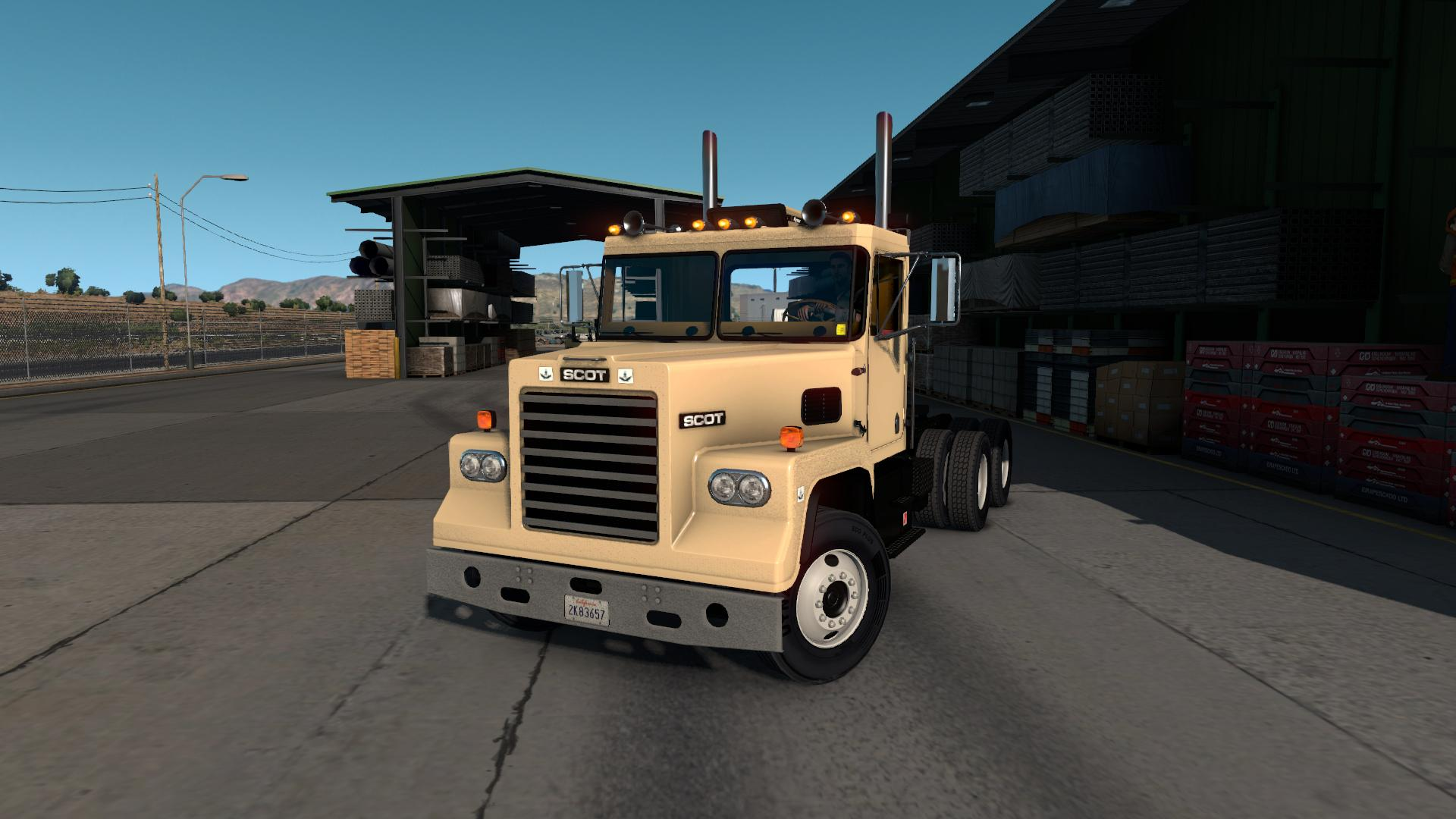 SCOT A2 REWORKED TRUCK V2 0 - ATS Mod | American Truck