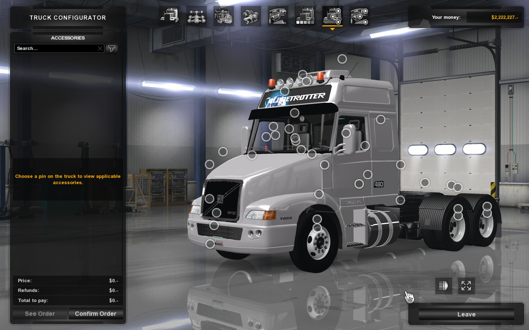 Volvo Dealers Nh >> Volvo NH12 Truck for ATS Reworked - ATS Mod | American ...
