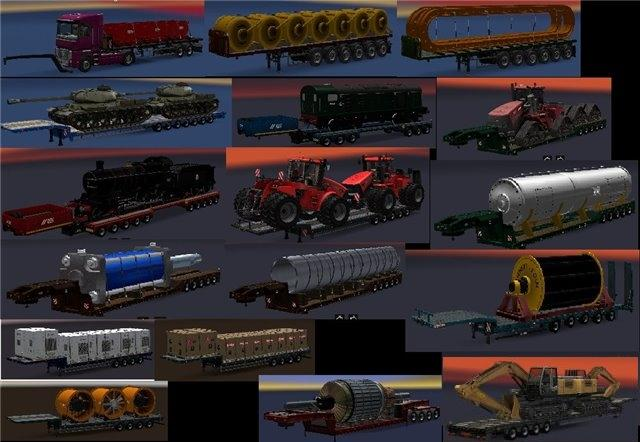 ADDON FOR THE CHRIS45 TRAILER PACK V9 09 for ATS - ATS Mod