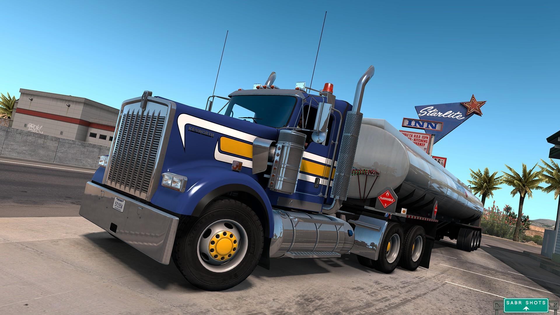 GTM Kenworth W900B Truck v1.0 1.31.x - ATS Mod | American ...