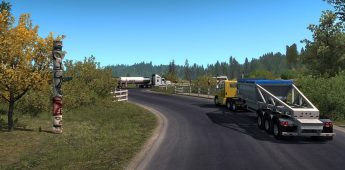 American Truck Simulator – Oregon DLC (2)