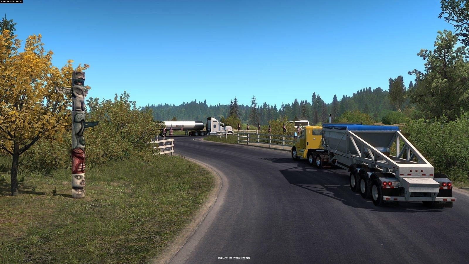 american truck simulator oregon dlc ats mod american. Black Bedroom Furniture Sets. Home Design Ideas