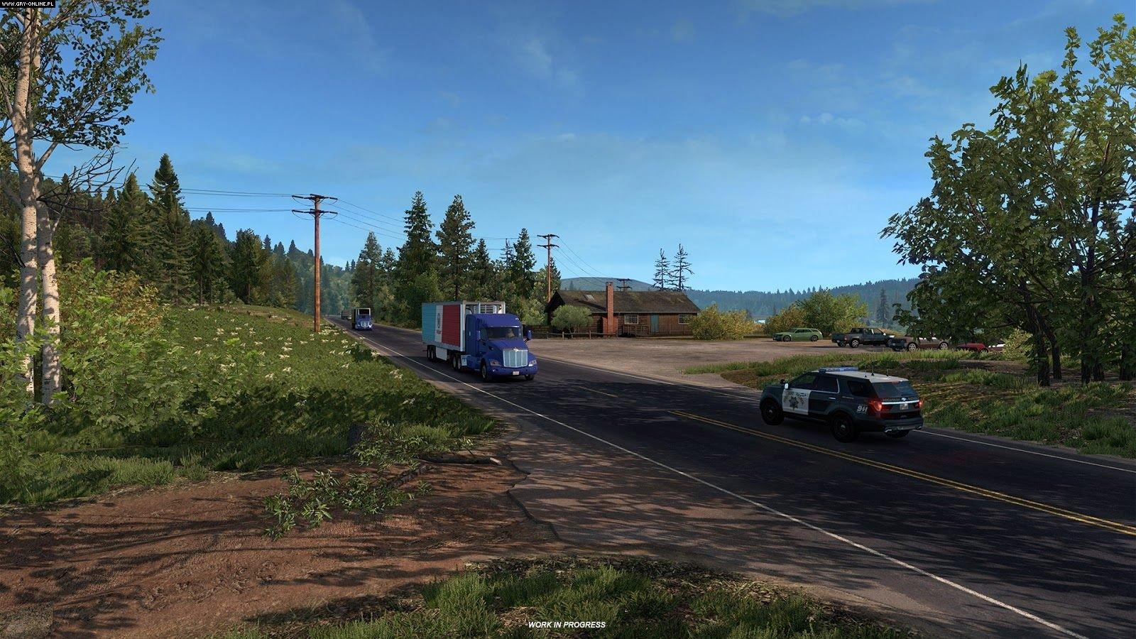 American Truck Simulator – Oregon DLC - ATS Mod   American