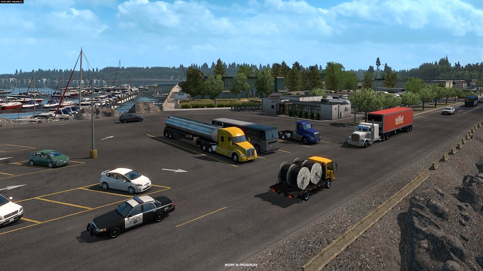 American Truck Simulator – Oregon DLC - ATS Mod | American