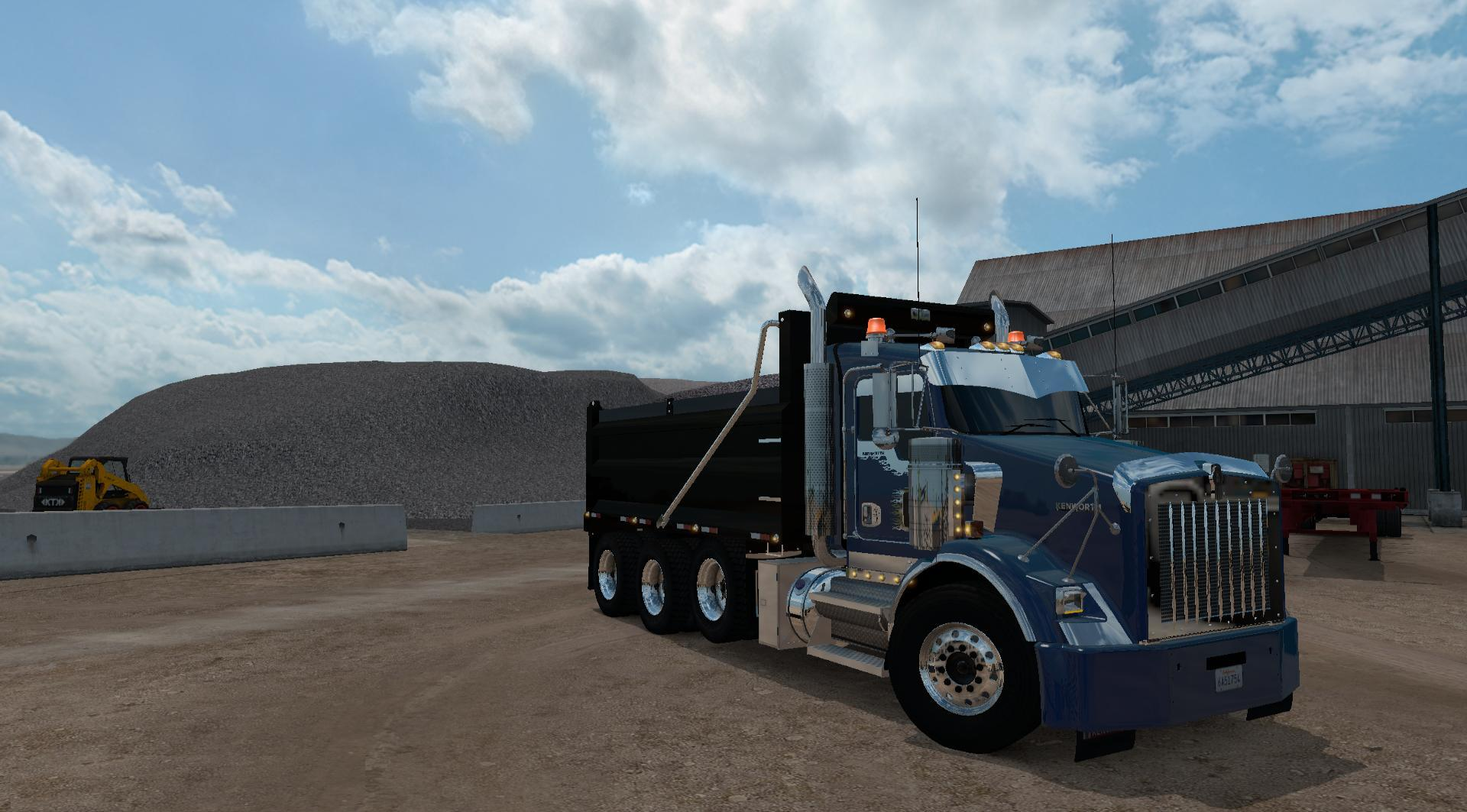 Kenworth T800 Truck - ATS Mod   American Truck Simulator ModKenworth Dump Trucks Fs19