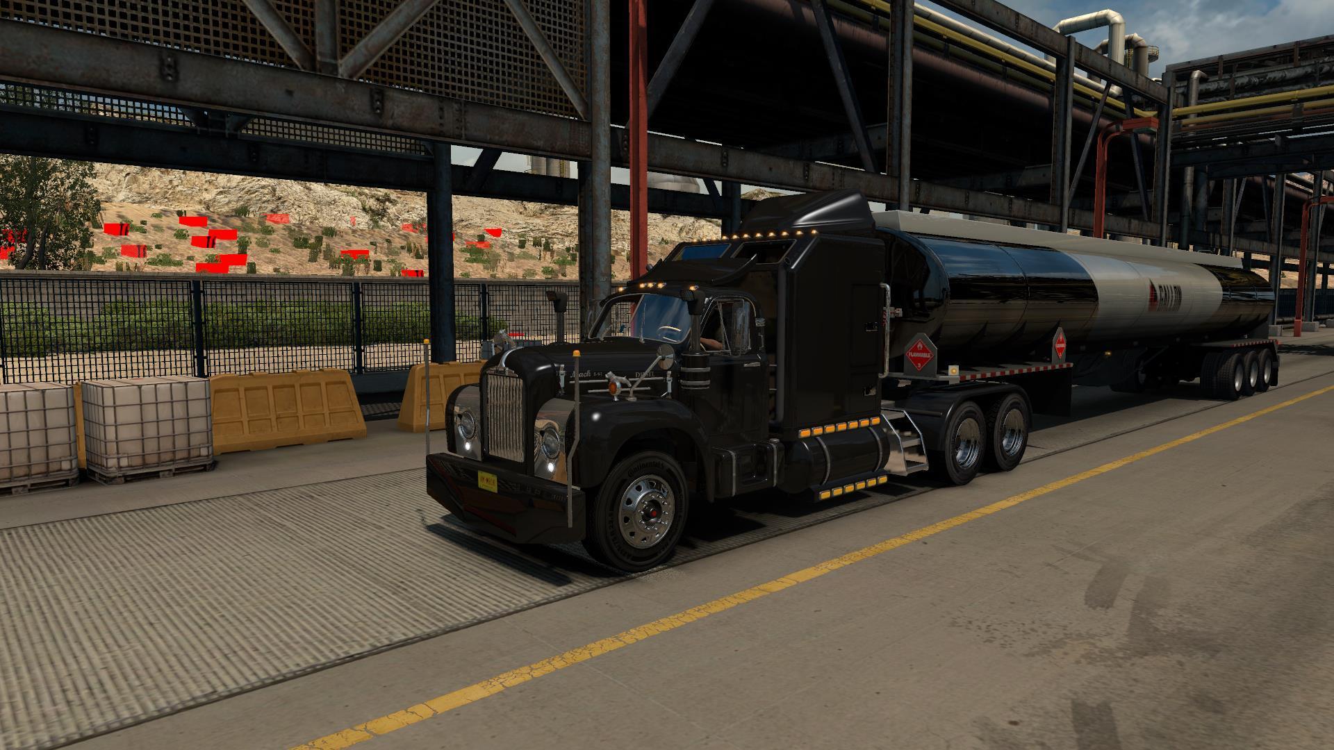 Mack B62 truck 1 31 - ATS Mod | American Truck Simulator Mod