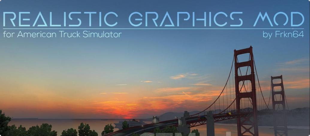 Realistic Graphics Mod version 2 1 3 for ATS - ATS Mod