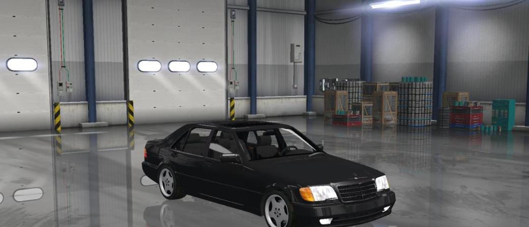 Mercedes S600 W140 V1 0 Ats Mod American Truck Simulator Mod