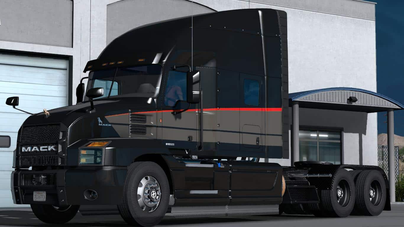 Volvo Semi Truck Parts >> MACK ANTHEM 2018 [12.09.18] 1.32.X TRUCK MOD - ATS Mod | American Truck Simulator Mod
