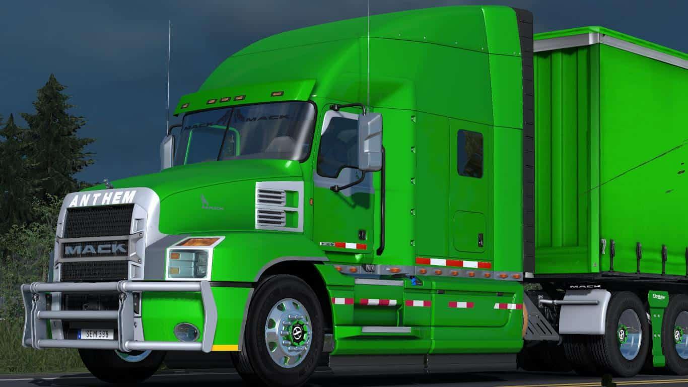 Mack Anthem 2018 12 09 18 1 32 X Truck Mod Ats Mod