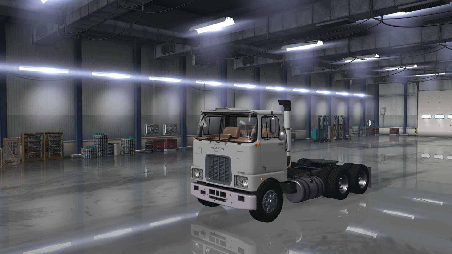 Truck Interior Accessories >> MACK F700 1.35.x Truck - ATS Mod   American Truck ...