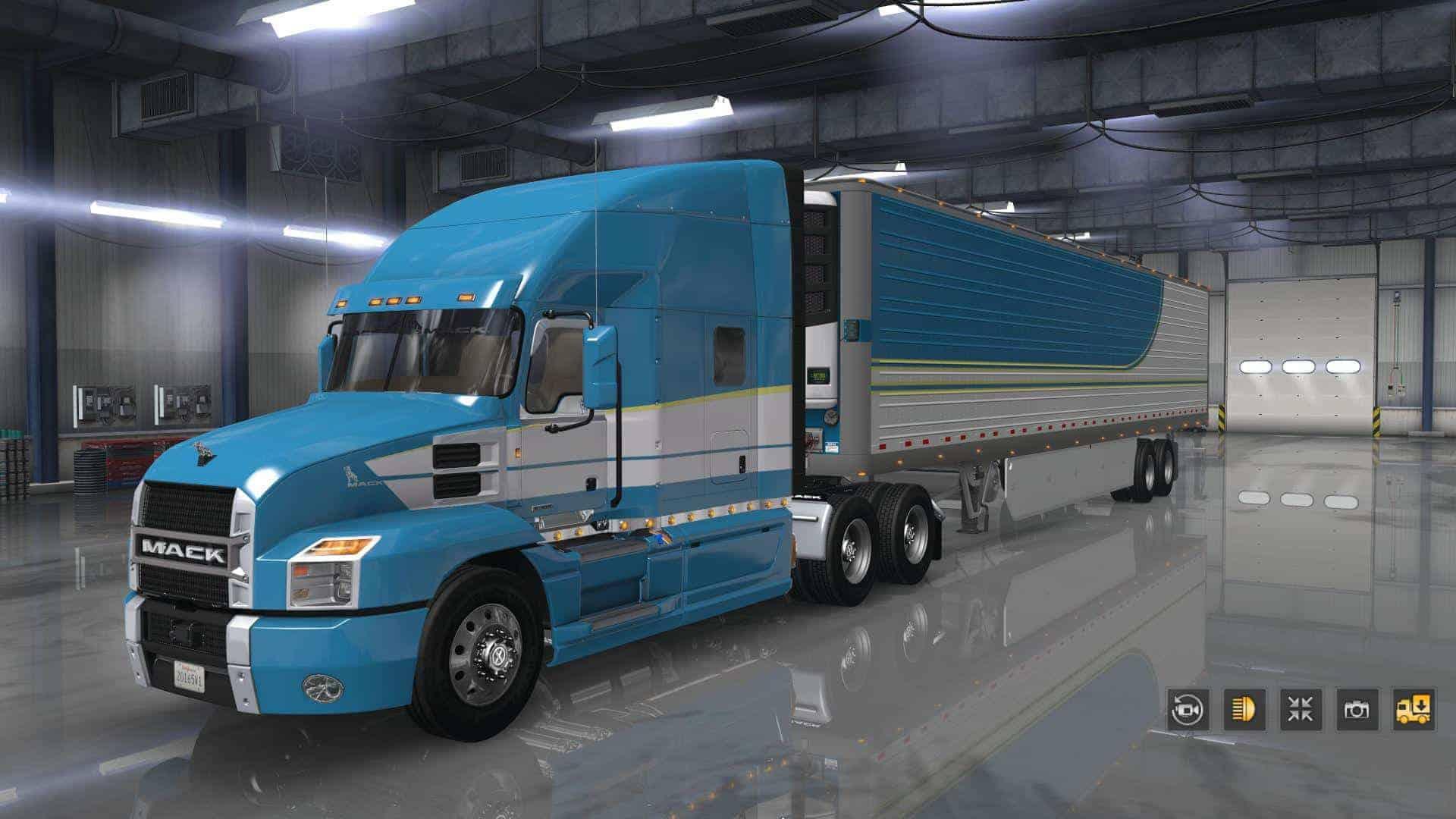 Mack Anthem v1 2 Truck 1 35 x - ATS Mod | American Truck Simulator Mod