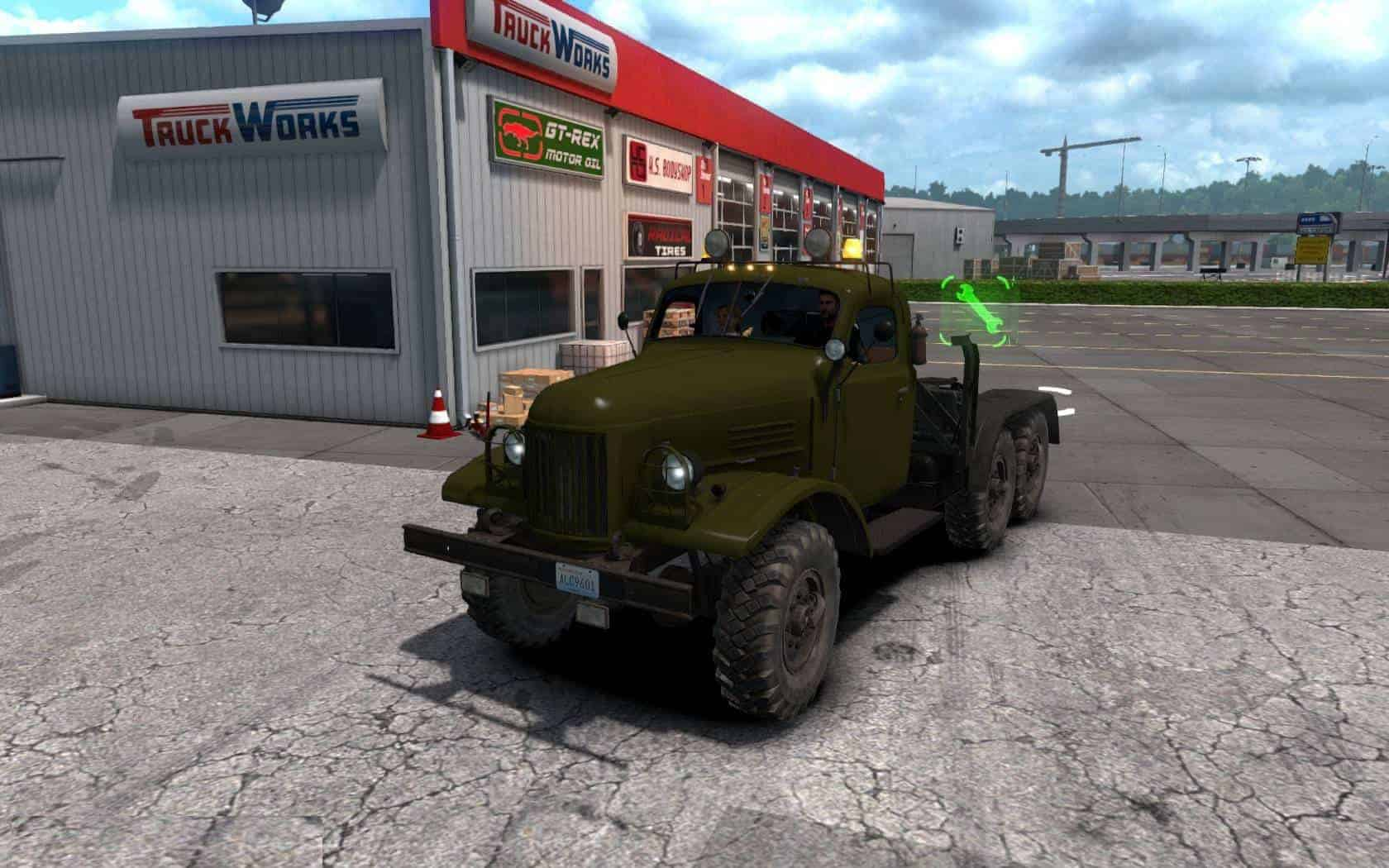 Zil 157 Truck update for ATS 1.35.x - ATS Mod | American Truck ... Map Usa Zil on